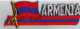 Flag Patch - Armenia 01